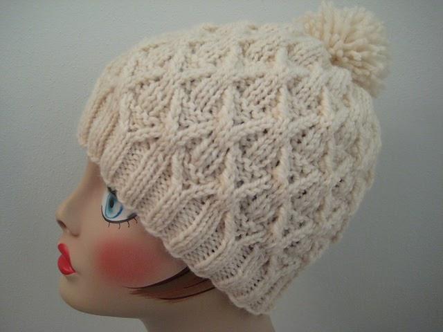 Craft Passions: Wickerwork Hat.# free #knitting pattern ...