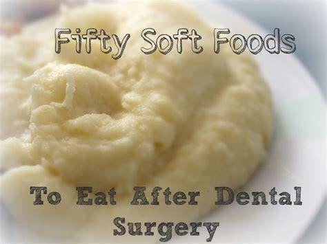 soft foods  eat  wisdom teeth removal health