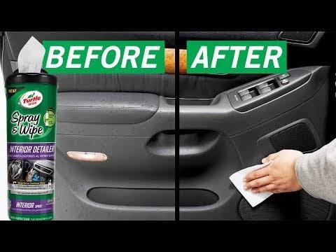 Car Interior Detailing Wax