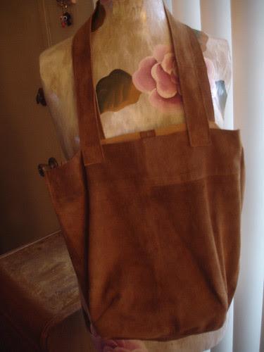 After - Suede Bag