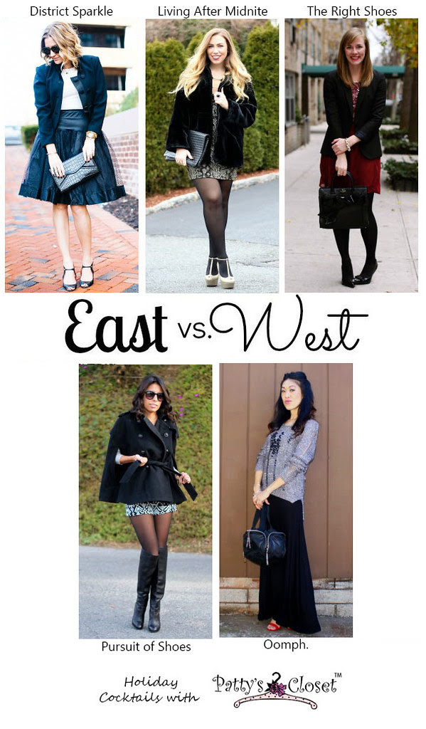 East vs. West Style: Holiday Cocktails