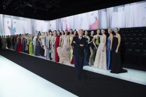8 Mr. Armani and models CREDIT Giorgio Armani
