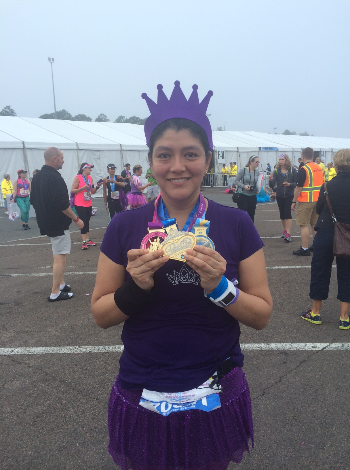 Walt Disney World Princess Half Marathon - Zenaida Arroyo