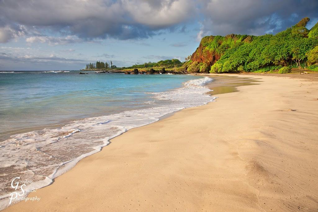 hamoa beach hana maui landscape