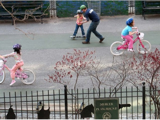 Greenwich Village NYU Mercer Playground