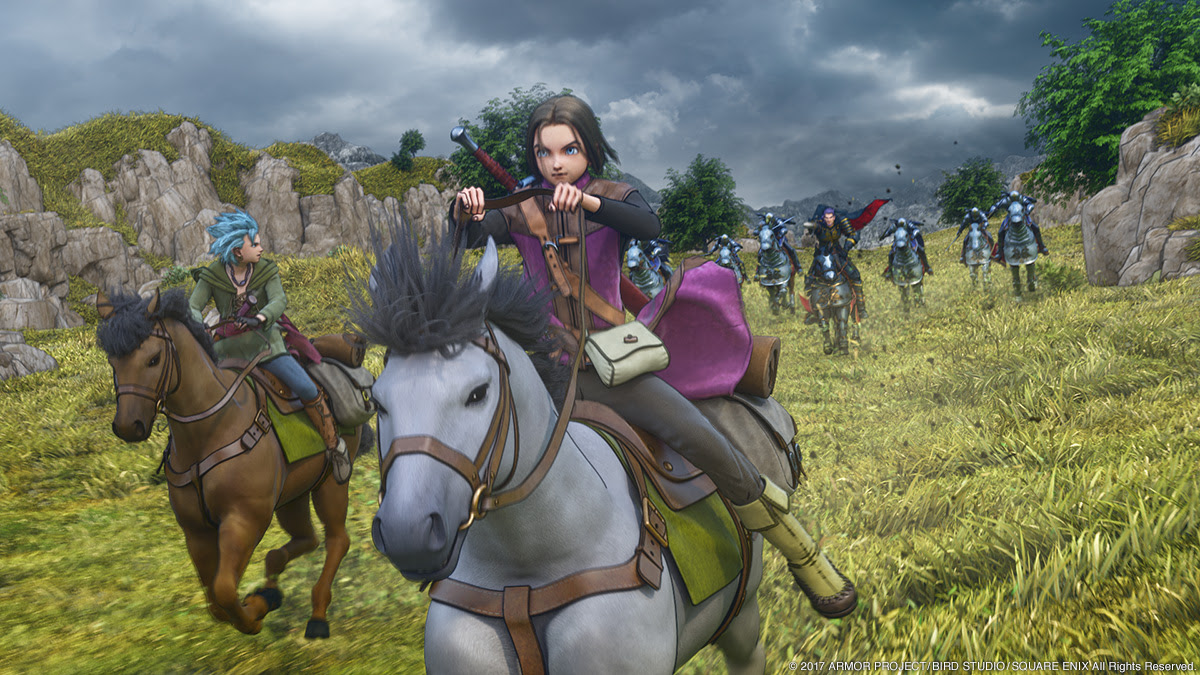 Dragon Quest XI's gargantuan launch also makes console sales soar in Japan screenshot