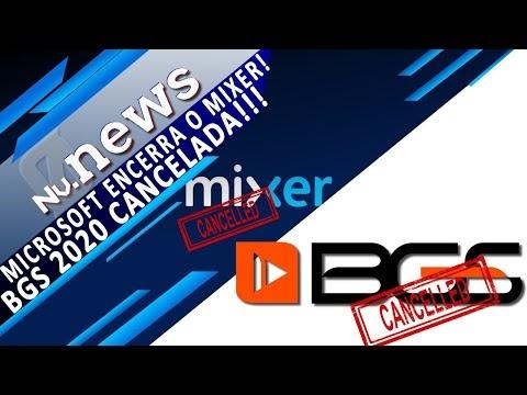 BGS 2020 CANCELADA + O FIM DO MIXER + NOVO CRASH BANDICOOT 4, E MAIS | #NívelNews