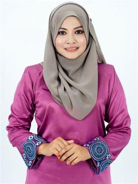 baju kurung satin  malaysian baju kurung