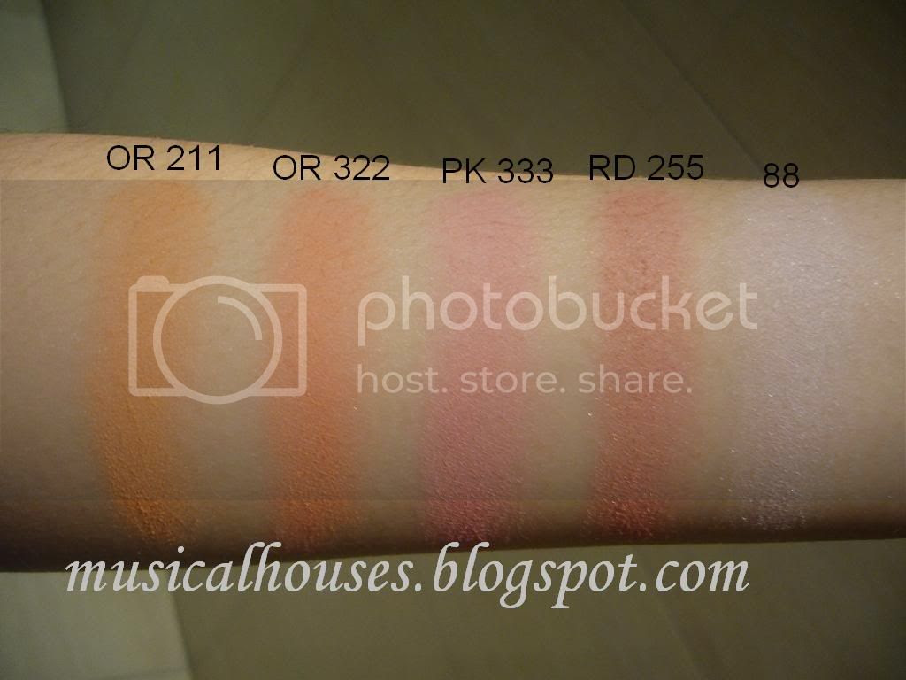 Majolica Majorca Blush Swatches