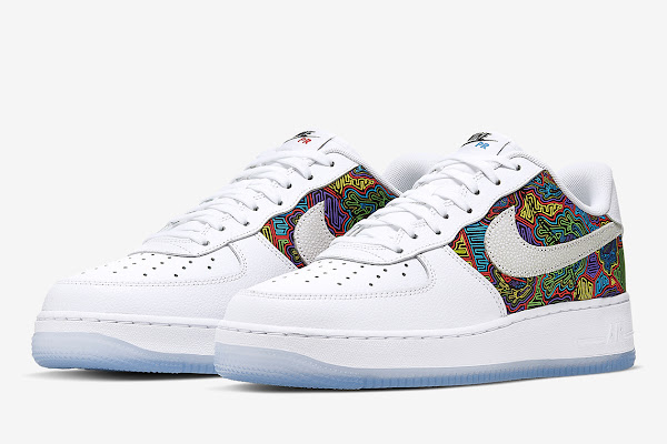 newest 666dd a9561 A Festive Mural Appears On The Nike Air Force 1 Low