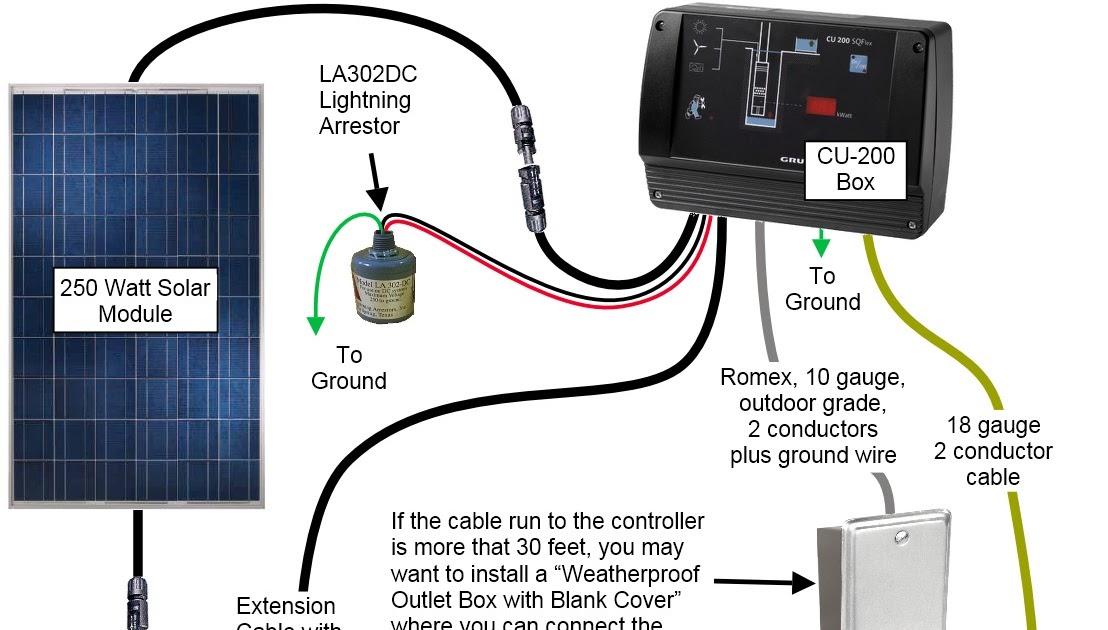 Wiring Diagram  33 Water Well Pump Wiring Diagram