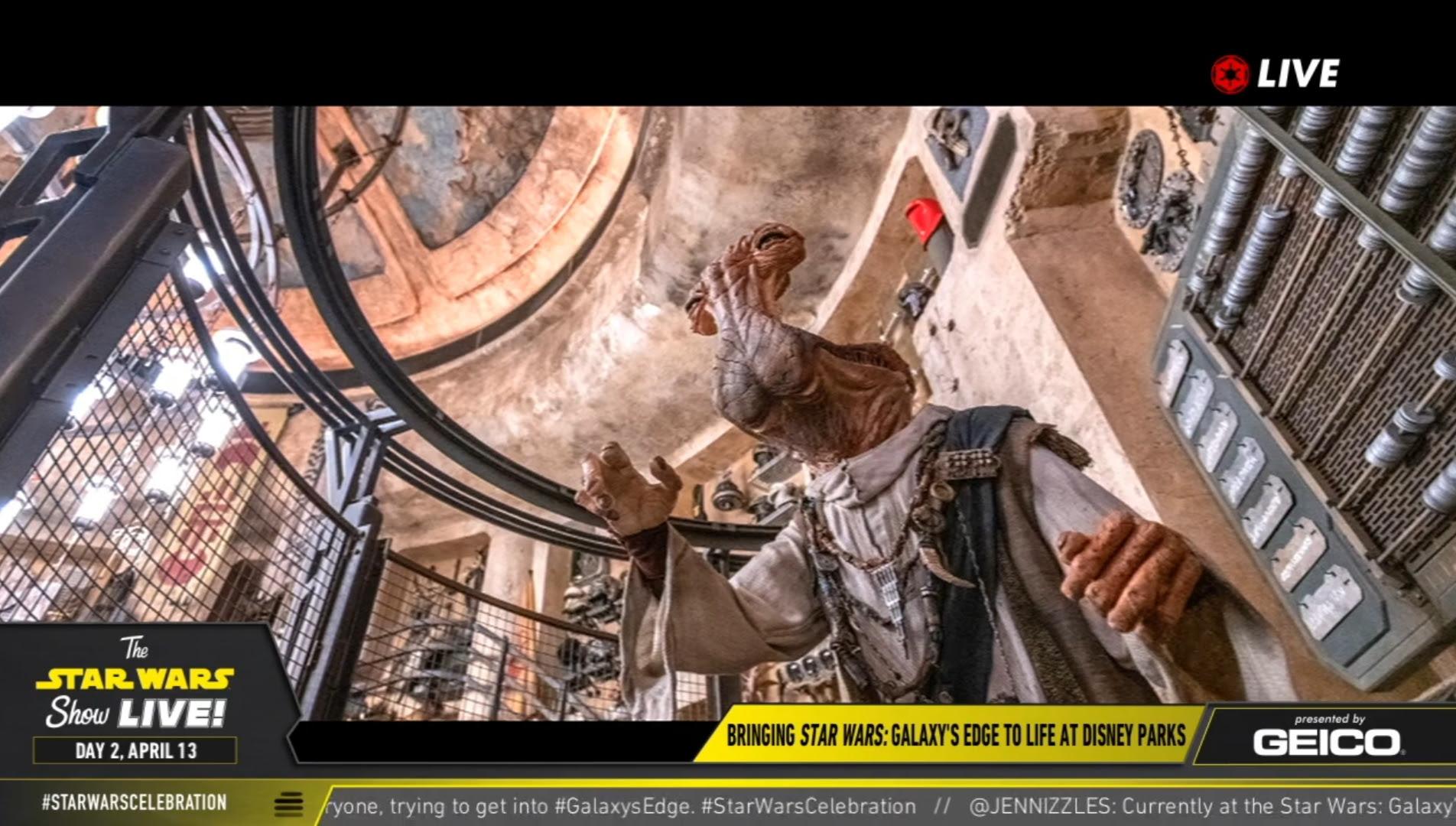 Galaxy's Edge: SWCC Panel Highlights | Anakin and His Angel
