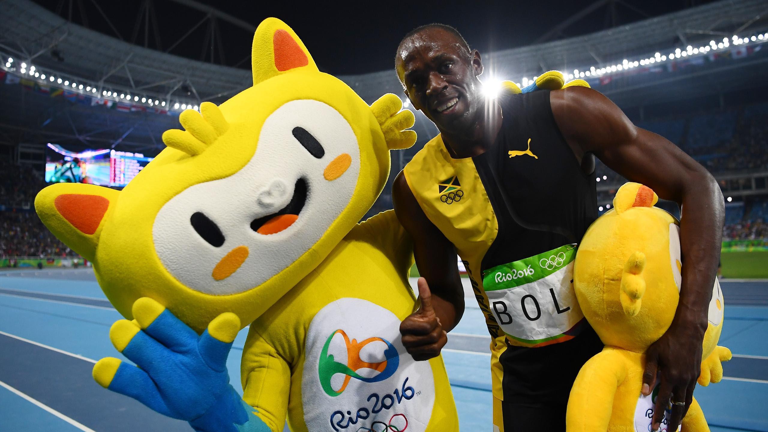 est100 一些攝影(some photos): Usain Bolt, Rio 2016. 博爾特/ 波特