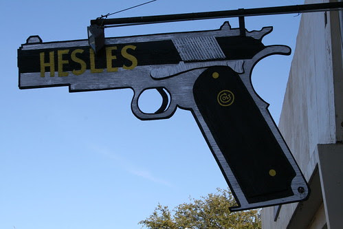 gun shop sign