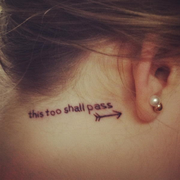 Behind The Ear Tattoos Words Pics Download