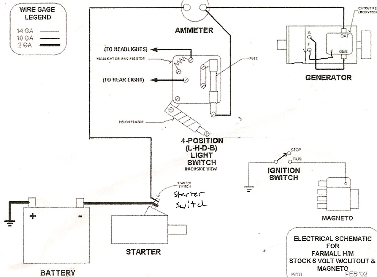 Farmall Tractor Wiring Diagram Wiring Diagrams Recover Recover Chatteriedelavalleedufelin Fr