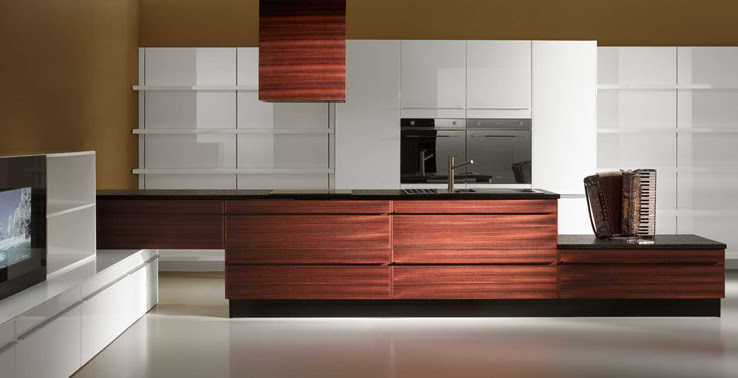 Multimedia Kitchen for Open Plan Areas – Opera from Oikos | DigsDigs