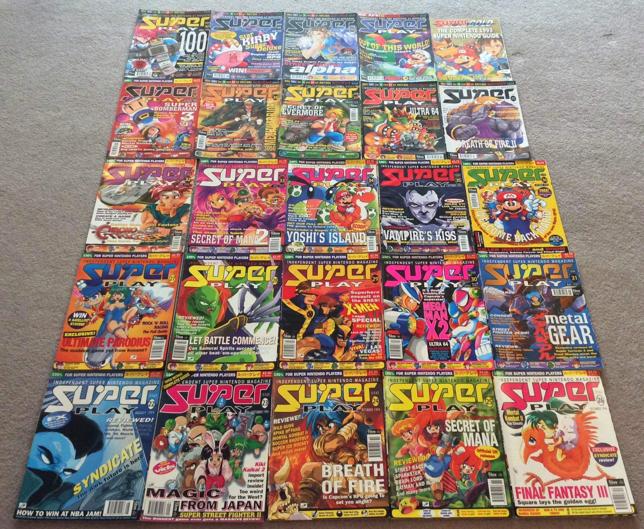 Retrogaming, Super Play, Super Nintendo, Wil Overton