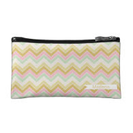 Sweet Treats {chevron pattern} Cosmetic Bag