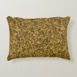 Gold Flaked Accent Pillow