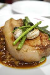 Côte de Porc Rôti avec Dauphinoise, Viron, Shibuya