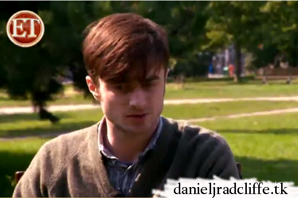 ET Canada visits Daniel Radcliffe on the set of The F Word