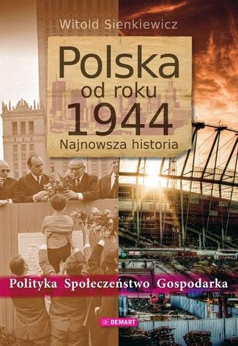 Okładka książki Polska od roku 1944: najnowsza historia