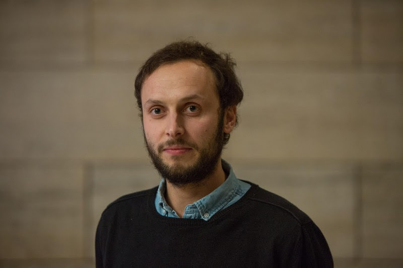 <p>El activista y filósofo croata Sreko Horvat</p>