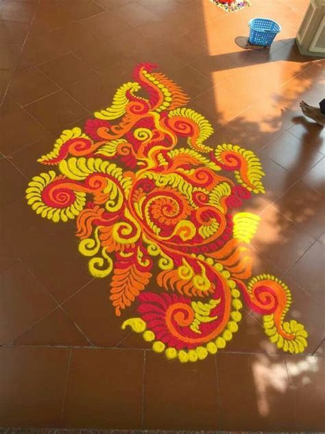 Lead the way to His pandal with a small and colourful