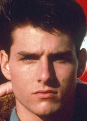 He hasn't aged a day!: Tom found fame in 1986's Top Gun (R) and 26 years later he still looks incredibly youthful