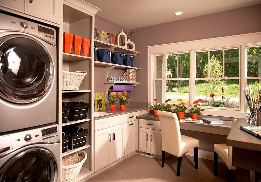 25 Space Saving Multipurpose Laundry Rooms