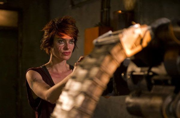 Lena Headey as Ma-Ma in DREDD 3D.