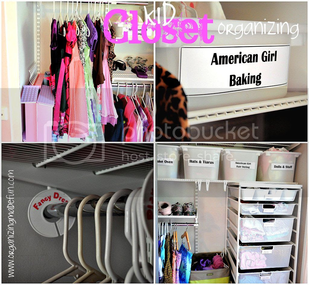 Perfectly Organized What Organizing Made Fun: Kids' Closet Ideas And Help
