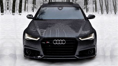 2017 Audi S6 V8 in Snow, Wonderful