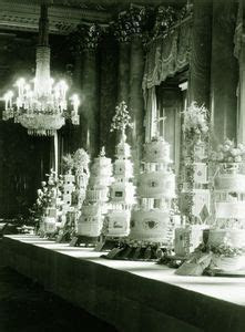 Queen Elizabeth II's Wedding CAKES. Talk about a dessert