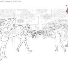 Coloriages Figures De Danse Classique à Colorier Frhellokidscom