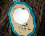 Bluebird Mirror Wall Hanging