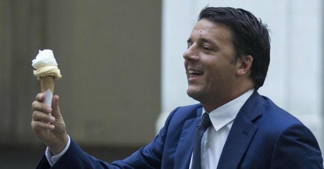 Renzi, il carretto passava e quell'uomo gridava gelati…