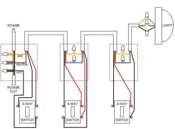 Leviton Decora 4 Way Switch Wiring Diagram