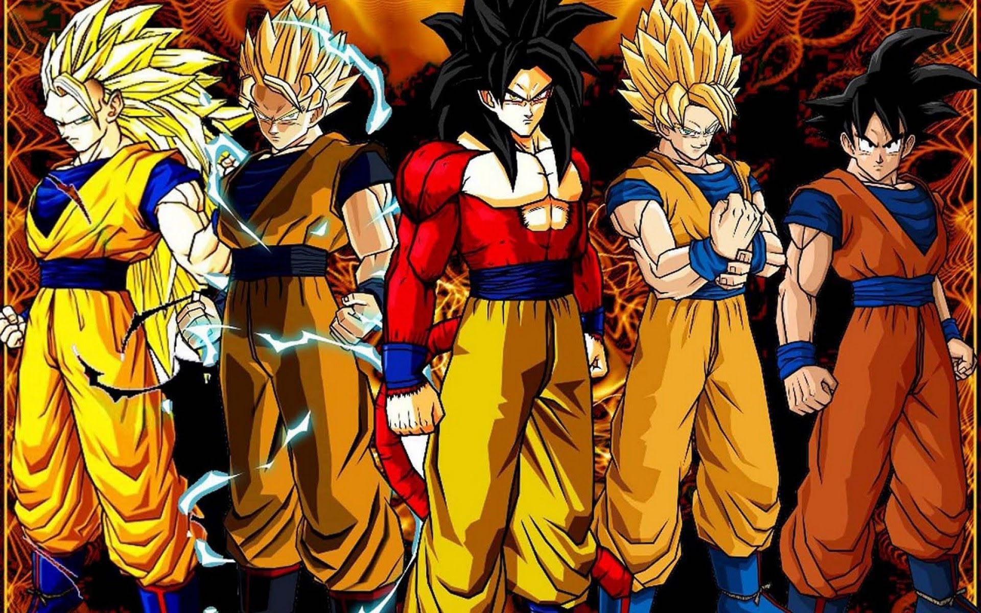 Dbz Wallpapers Hd All Saiyans 61 Images