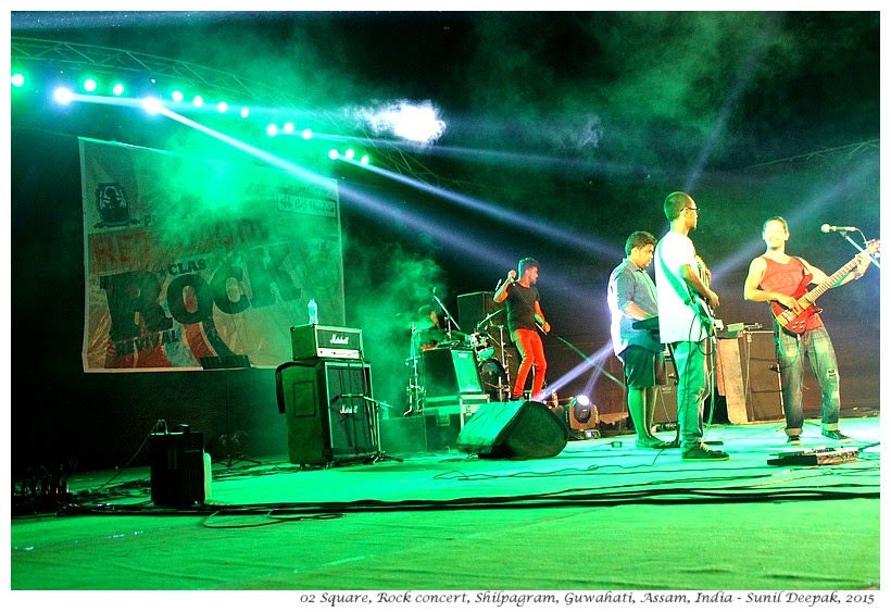 02 Square, Rock Music Concert, Guwahati, Assam, India - Images by Sunil Deepak