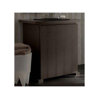 Grey Wood Bathroom Vanity | Wayfair