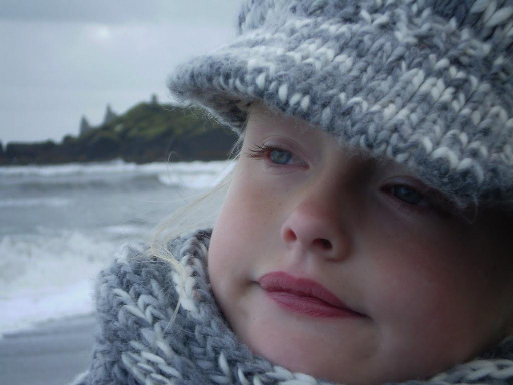 Birgitta on the Beach