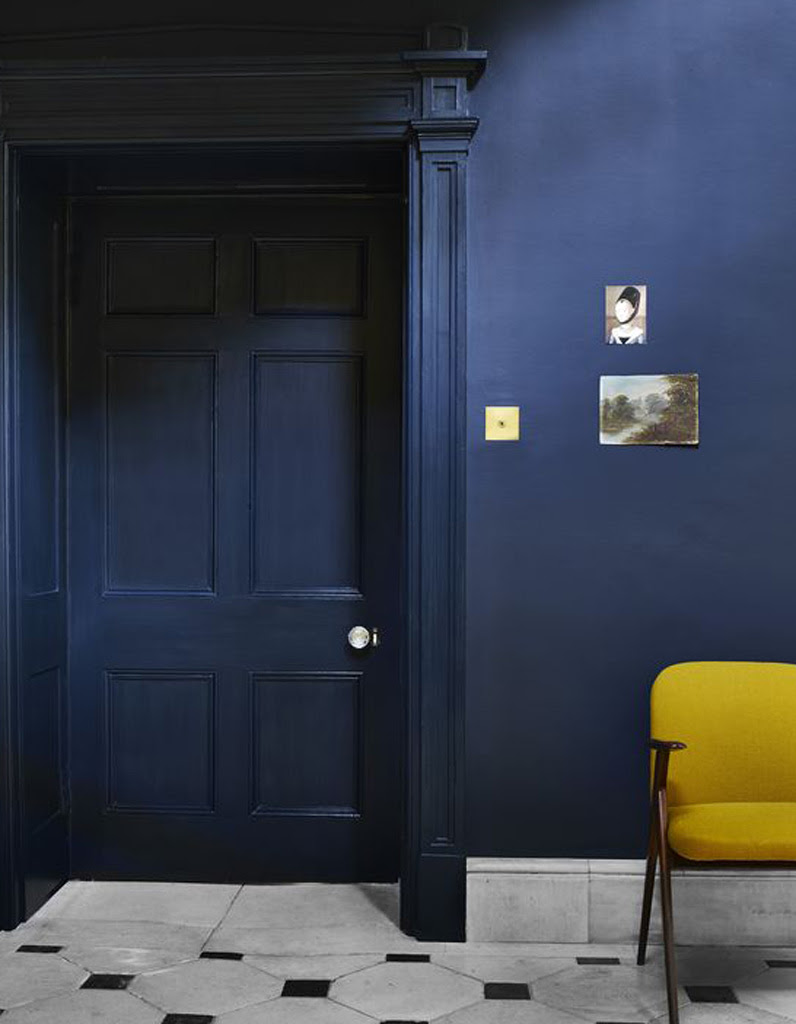 Chambre Bleu Canard Et Jaune Moutarde | My Moments in Home