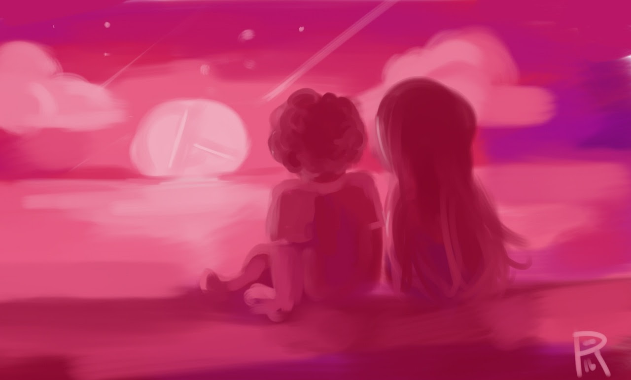 A quick Steven and connie sketch