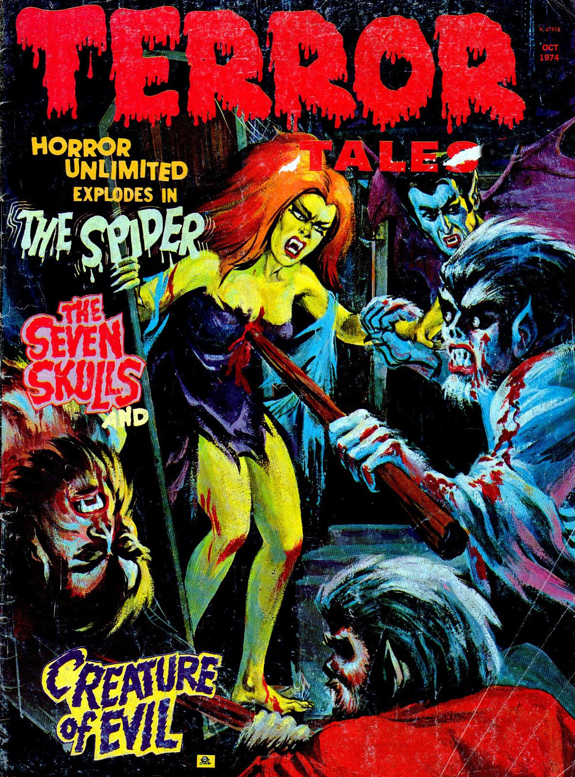 Terror Tales Vol. 06 #5 (Eerie Publications, 1974)