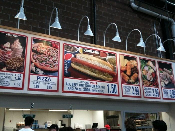 Food Court Signage.   Yelp