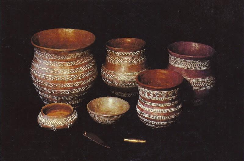 гаплогруппа R1b и керамика культуры колоколовидных кубков