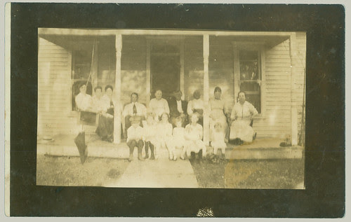 Group on a porch