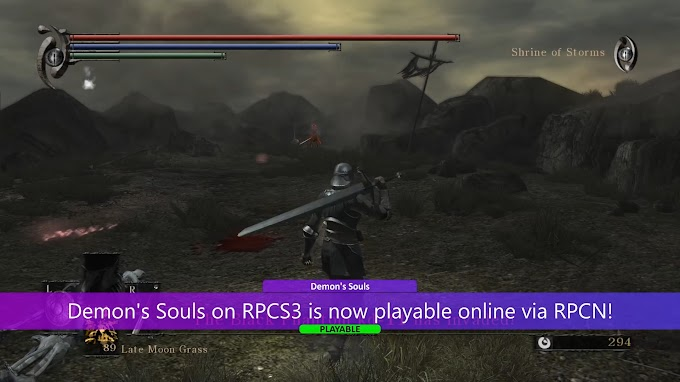 Playing online with the RPCS3 emulator is now possible
